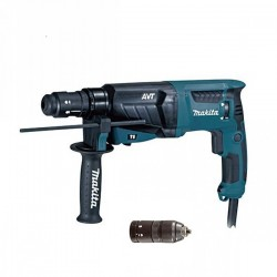 Makita HR2631FT SDS-PLUS AVT doppio mandrino