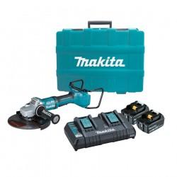 Makita DGA900PT2 Smerigliatrice angolare 36V(18x2)+valigetta D.230