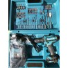 Makita HP333DSAX1 trapano 12V.con 74 accessori+percuss.