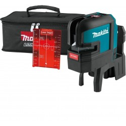 Makita SK106DZ Tracciatore laser + cavalletto + kit energy + borsa in cordura