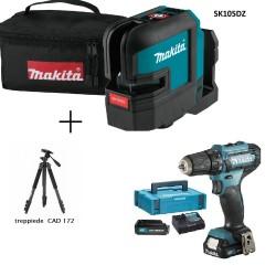 Makita SK105DZ Tracciatore laser