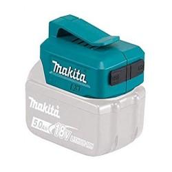 DEBADP05 ADATTATORE USB A DUE PORTE 14.4V - 18V (SENZA BATTERIE E CARICABATTERIE) SKU: DEBADP05