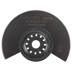 Lama B-64799 per legno, plastica, metallo originale Makita TMA045 per TM3010 ex B-21325