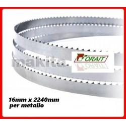 Lame per sega a nastro Makita LB1200F B-16695 16x2240 14T conf.da 3Pz per metallo